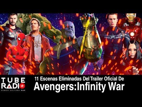 Tube Radio: 11 escenas eliminadas del trailer oficial de Avengers: Infinity War