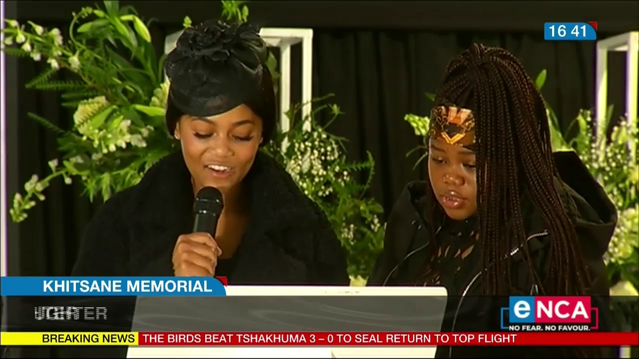 Drama unfolds at Khitsane's memorial of Celebrity Tombstone maker In South Africa.