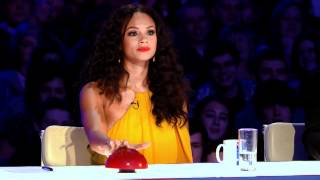 New judge Alesha Dixon gets lippy on Britain