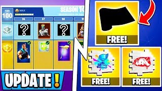 *NEW* Fortnite Update! | Free YouTube Items, S10 Battle Pass Rewards, Event POI!