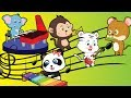 Baby Animals Playing musical instruments | Simple cartoons for kids