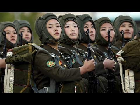 NORTH KOREA Vs SOUTH KOREA Military Power 2017(HD) - YouTube