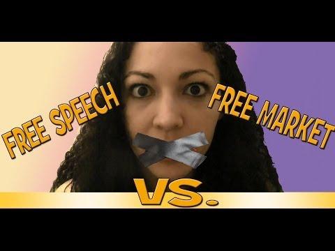 Free Speech vs. Free Market