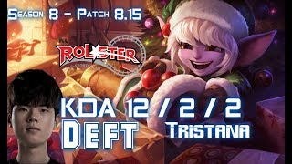 KT Deft TRISTANA vs KAI'SA ADC - Patch 8.15 KR Ranked