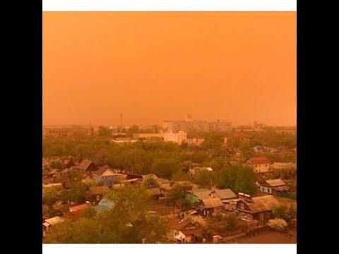 Пыльные бури в Приамурье