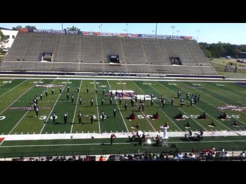 """Delcambre HS Band """"A Day in Metropolis"""" @ Northwestern State University"""
