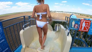 Highest. Fastest.. Craziest Water Slides!
