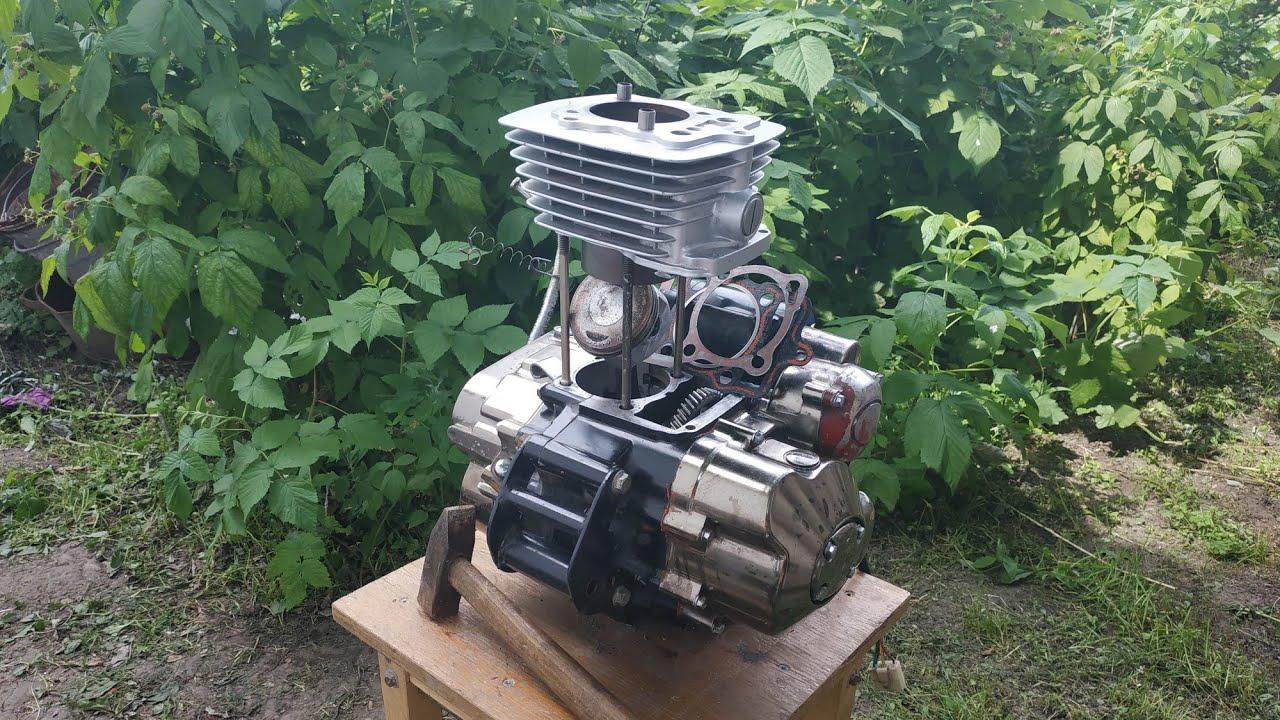 Ремонт четырёхтактного мотоциклетного двигателя 200 см³. ЧАСТЬ 2