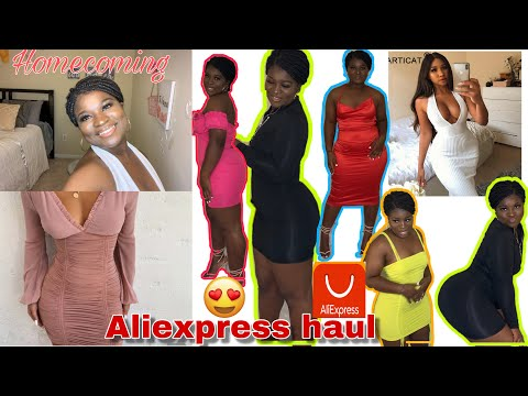 AFFORDABLE ALIEXPRESS TRY-ON HAUL| INSTAGRAM BADDIE DUPES