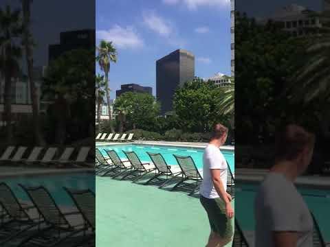 Barrington Plaza pool