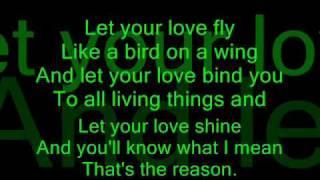 """Let your love flow"" Petra Haden"