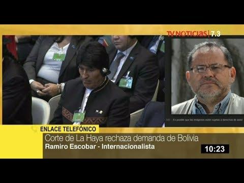 Evo Morales se verá afectado políticamente tras fallo de La Haya, señala internacionalista