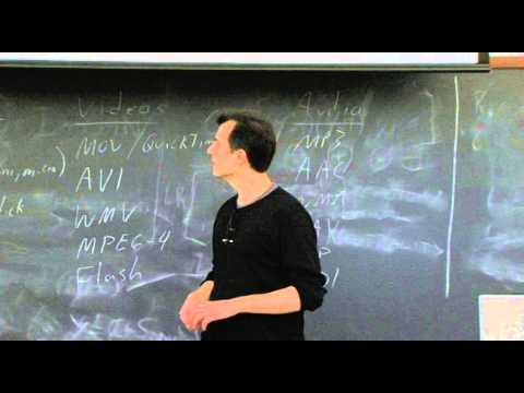 Lecture 5: Multimedia - CSCI E-1 2010 - Harvard Extension School