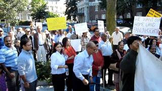 KP Rally in DC - Indian National Anthem