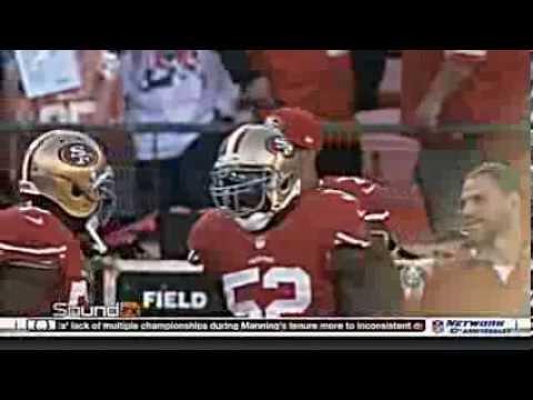 49ers Kaepernick  and the Doublemint Twins: Patrick Willis & Navarro Bowman