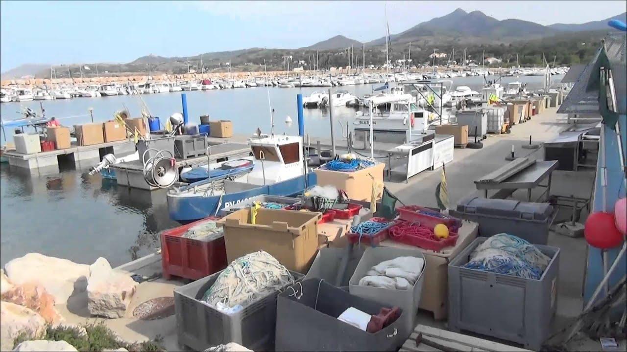 Petite visite dans le port d 39 argel s sur mer plaisance languedoc roussillon france youtube - Capitainerie port argeles sur mer ...