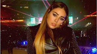 Danna Paola copia las pecas de Belinda y la tachan de imitarla