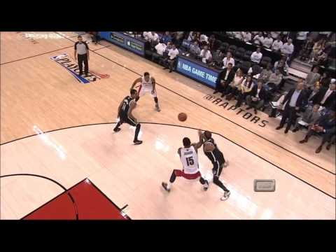 Raptors 2014 PLAYOFFS: R1G2 vs. Nets
