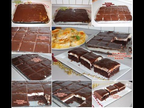 Aglayan Pasta Nasil Yapilir Tarifi - Cikolata Soslu Pasta