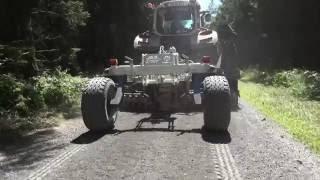 Pflegesystem für Forst- und Schotterstrassen mit der Technik von Stehr