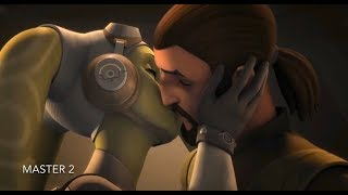 [Kanan and Hera Finally Kissing] Star Wars Rebels Season 4 Episode 7 [HD]