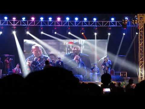 Abrar Ul Haq & Chinese singer singing in pakistan at PAC Kamra