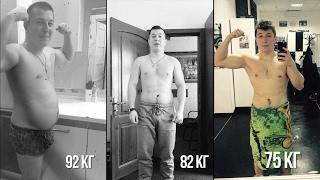 Кроссфит-трансформация тела! МИНУС 17 КГ за ТРИ МЕСЯЦА!
