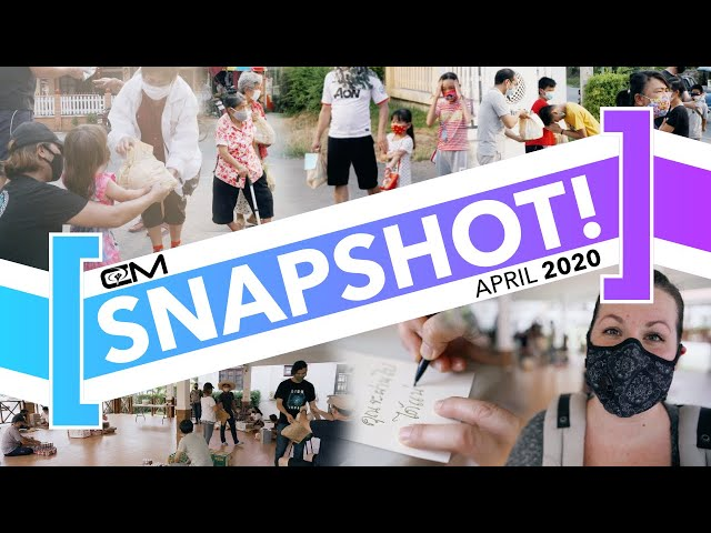 Snapshot / April 2020 / Feeding the hungry in Thailand!