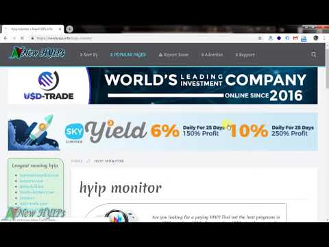 Forex company online hyip monitor disinvestment of psu jobs