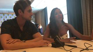 SDCC 2017 Once Upon a Time: Dania Ramirez & Andrew J. West