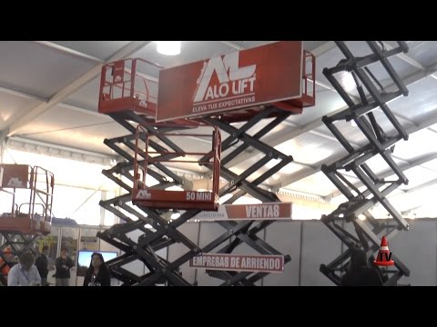 ALOLIFT Presente En Expomin 2016 - Plataformas Tijera | Alo Group CHILE