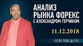 🔴 Технический анализ рынка Форекс 11.12.2018 ➤➤ Обзор валют с Александром Герчиком