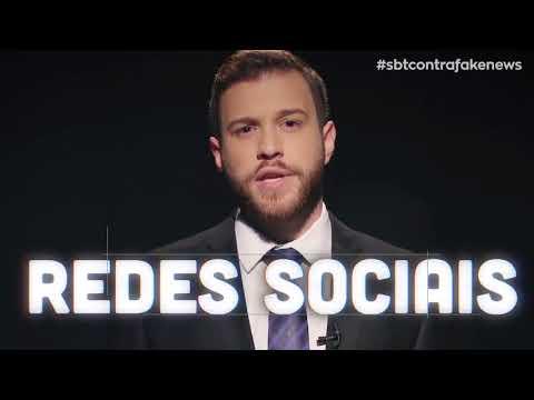 SBT Contra Noticias Falsas  - Alerta de Fake News nas redes sociais