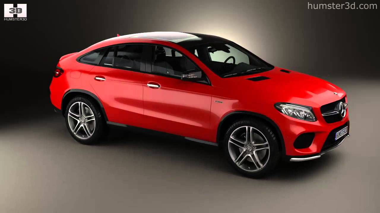 mercedes benz gle class amg coupe 2014 by 3d model store. Black Bedroom Furniture Sets. Home Design Ideas