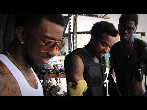 "Behind The Scenes: Travis Porter Shooting Their ""Red Rock"" Movie"
