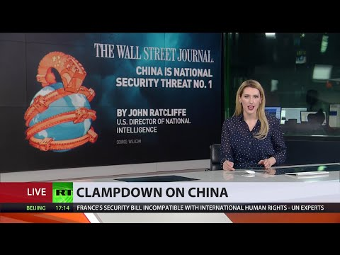'China is national security threat №1' | US ramps up anti-Beijing measures