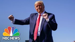 Watch: Trump Dances To 'YMCA' At His Campaign Rallies | NBC News NOW