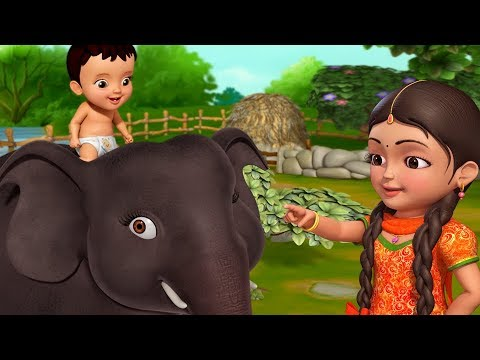 Hathi Raja New Video | Hindi Rhymes for Children | Infobells thumbnail