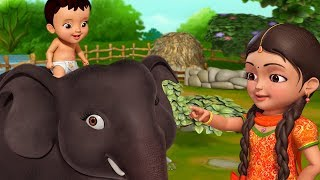 Hathi Raja Neues Video | Hindi Rhymes für Kinder | Infobells