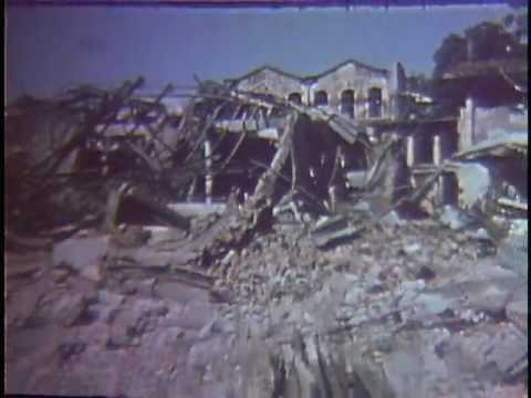 Vietnam War: Bomb Damage in Hanoi, North Vietnam (1972)