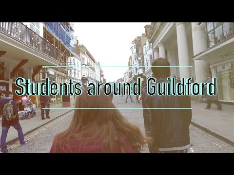 Students Tour Guildford - StagTV