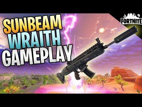 FORTNITE - Level 130 Sunbeam Wraith Assault Rifle Save The World Gameplay (Physical Element)