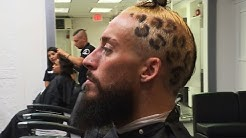 See how Enzo gets his signature leopard print hairstyle: Enzo & Cass' SummerSlam Homecoming