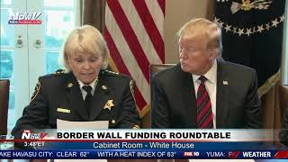 FULL BORDER MEETING: President Trump Holds Border Wall Meeting