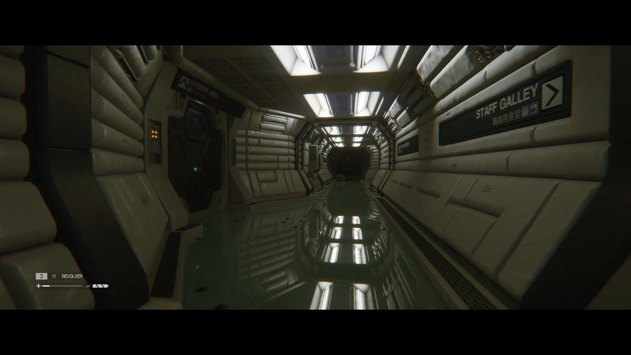 [60FPS] Alien Isolation PC - Enhanced Planar Reflections ...