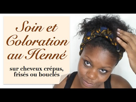 soin et coloration au henn sur cheveux fris s cr pus et boucl s youtube. Black Bedroom Furniture Sets. Home Design Ideas