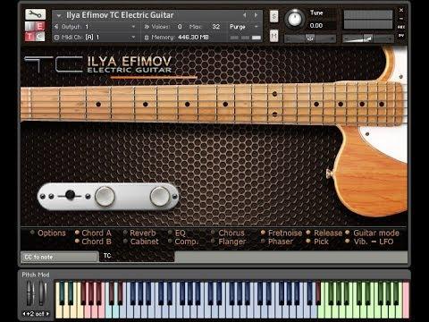 ilya efimov Electric Guitar