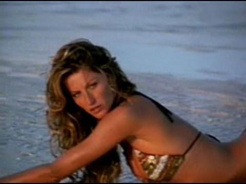 Gisele Bündchen sexy shoot in Bahamas for Victoria's Secret Swimsuit catalogue 2005