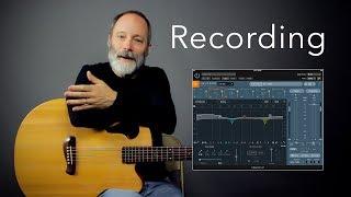 Ambient Baritone Guitar Recording Tutorial (Zoom H4N / Logic Pro X)