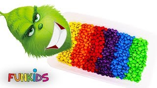 THE GRINCH (Dr. Seuss) Rainbow M&M's Bath Tub Suprise